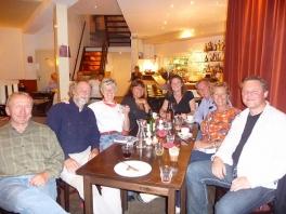 Haarlem dinner with Leneke Holland 2009