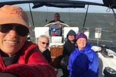 Sailing the Isselmeer